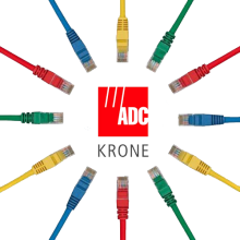 Dây Patch Cord ADC Krone cat 6 UTP 15m