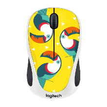 Chuột quang không dây Logitech Wireless Mouse M238 Party Toucan