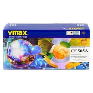Mực in Vmax 05A Black Toner Cartridge (CE505A)